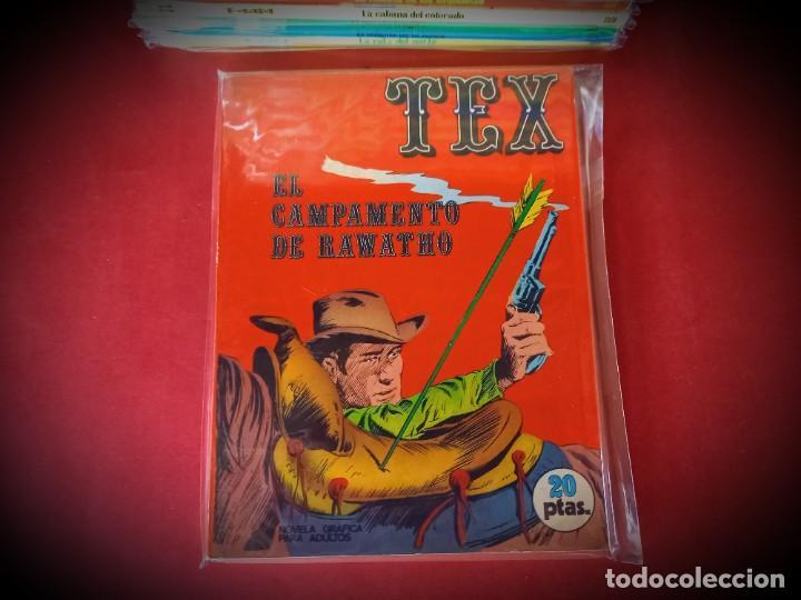 TEX Nº 8 -BURU LAN - EXCELENTE ESTADO - LEER DESCRIPICION - (Tebeos y Comics - Buru-Lan - Tex)