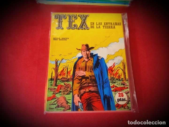 TEX Nº 10 -BURU LAN - EXCELENTE ESTADO - LEER DESCRIPICION - (Tebeos y Comics - Buru-Lan - Tex)