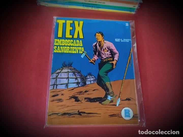 TEX Nº 22 -BURU LAN - EXCELENTE ESTADO - LEER DESCRIPICION - (Tebeos y Comics - Buru-Lan - Tex)