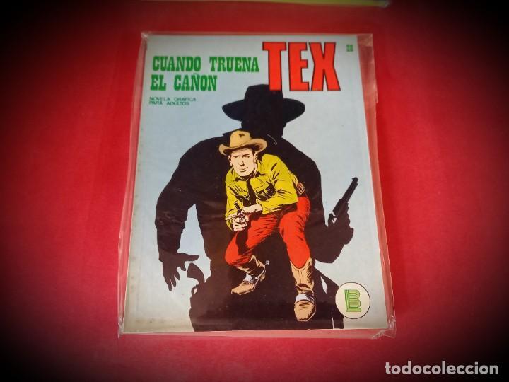 TEX Nº 28 -BURU LAN - EXCELENTE ESTADO - LEER DESCRIPICION - (Tebeos y Comics - Buru-Lan - Tex)