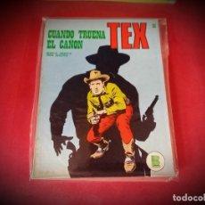 Cómics: TEX Nº 28 -BURU LAN - EXCELENTE ESTADO - LEER DESCRIPICION -. Lote 247958435