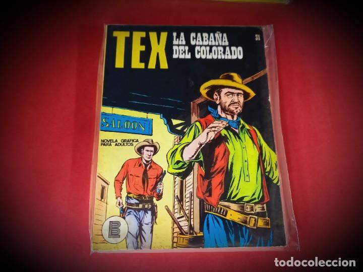 TEX Nº 31 -BURU LAN - EXCELENTE ESTADO - LEER DESCRIPICION - (Tebeos y Comics - Buru-Lan - Tex)