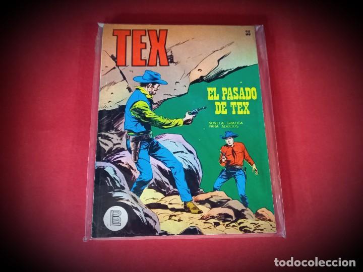 TEX Nº 35 -BURU LAN - EXCELENTE ESTADO - LEER DESCRIPICION - (Tebeos y Comics - Buru-Lan - Tex)