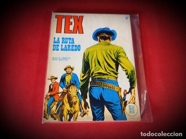 TEX Nº 37 -BURU LAN - EXCELENTE ESTADO - LEER DESCRIPICION - (Tebeos y Comics - Buru-Lan - Tex)