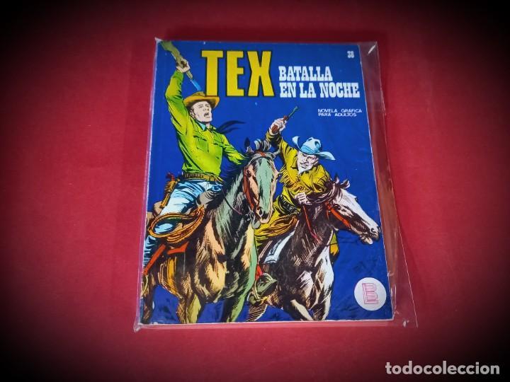 TEX Nº 38 -BURU LAN - EXCELENTE ESTADO - LEER DESCRIPICION - (Tebeos y Comics - Buru-Lan - Tex)