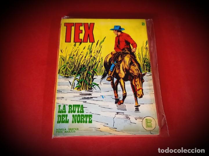 TEX Nº 39 -BURU LAN - EXCELENTE ESTADO - LEER DESCRIPICION - (Tebeos y Comics - Buru-Lan - Tex)