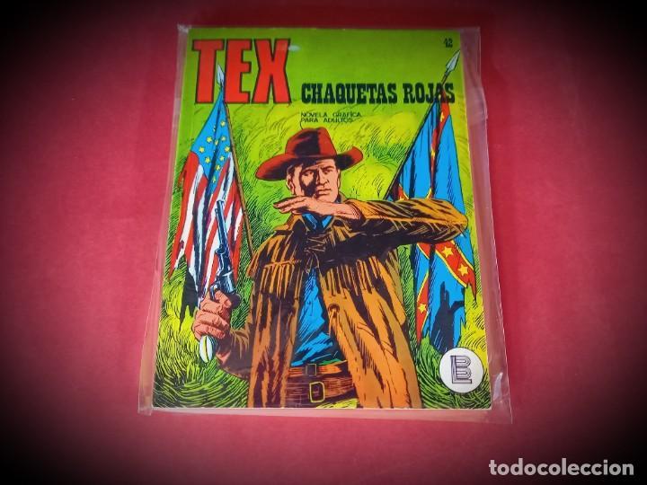 TEX Nº 42 -BURU LAN - EXCELENTE ESTADO - LEER DESCRIPICION - (Tebeos y Comics - Buru-Lan - Tex)