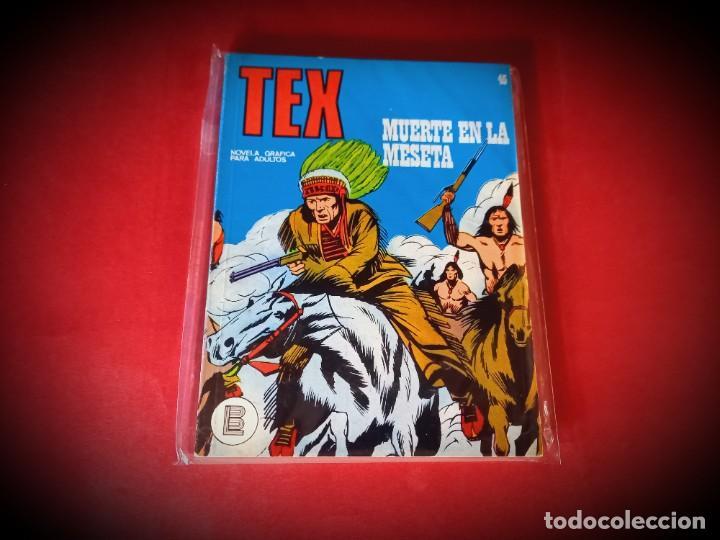 TEX Nº 45 -BURU LAN - EXCELENTE ESTADO - LEER DESCRIPICION - (Tebeos y Comics - Buru-Lan - Tex)