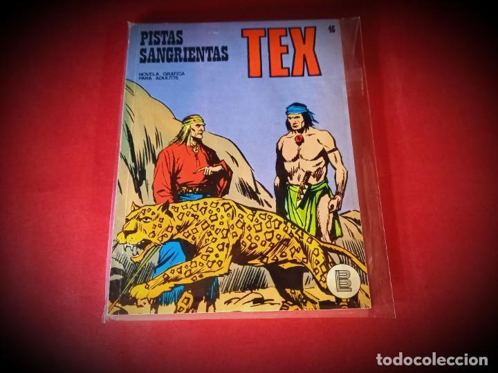 TEX Nº 46 -BURU LAN - EXCELENTE ESTADO - LEER DESCRIPICION - (Tebeos y Comics - Buru-Lan - Tex)