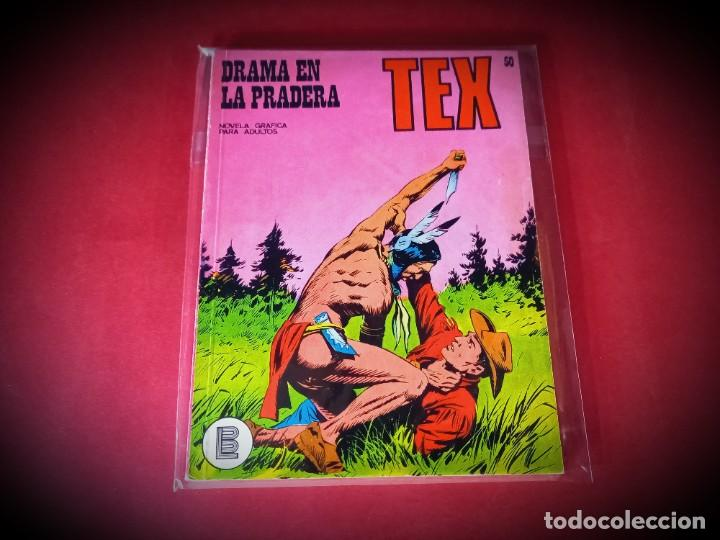 TEX Nº 50 -BURU LAN - EXCELENTE ESTADO - LEER DESCRIPICION - (Tebeos y Comics - Buru-Lan - Tex)