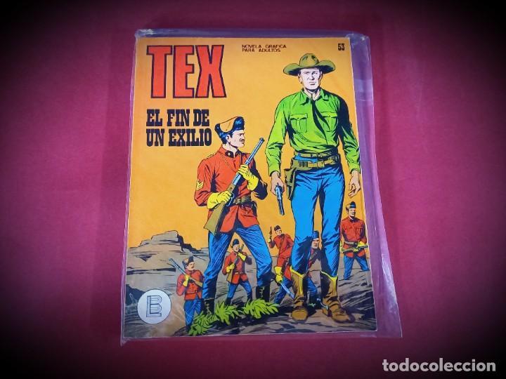 TEX Nº 53 -BURU LAN - EXCELENTE ESTADO - LEER DESCRIPICION - (Tebeos y Comics - Buru-Lan - Tex)