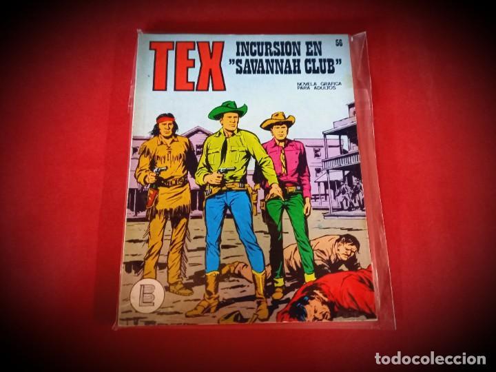 TEX Nº 56 -BURU LAN - EXCELENTE ESTADO - LEER DESCRIPICION - (Tebeos y Comics - Buru-Lan - Tex)
