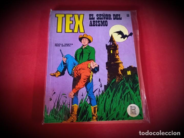 TEX Nº 58 -BURU LAN - EXCELENTE ESTADO - LEER DESCRIPICION - (Tebeos y Comics - Buru-Lan - Tex)