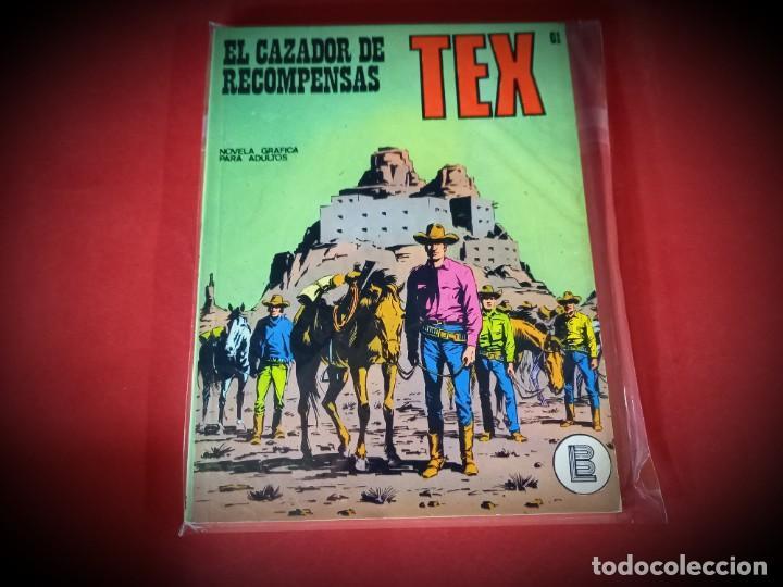 TEX Nº 61 -BURU LAN - EXCELENTE ESTADO - LEER DESCRIPICION - (Tebeos y Comics - Buru-Lan - Tex)