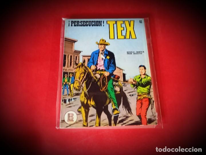 TEX Nº 63 -BURU LAN - EXCELENTE ESTADO - LEER DESCRIPICION - (Tebeos y Comics - Buru-Lan - Tex)