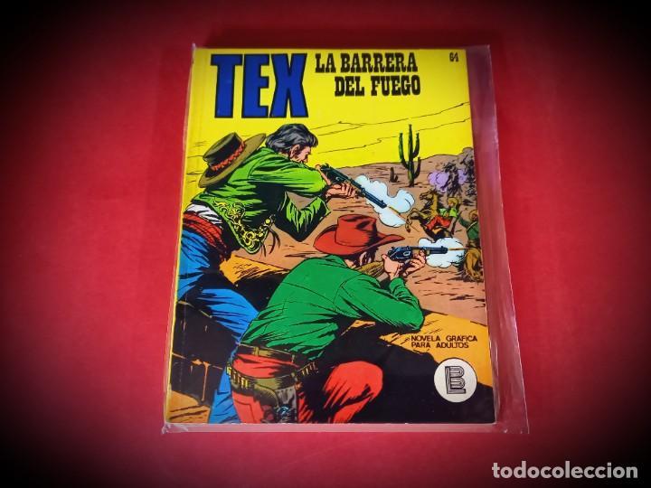 TEX Nº 64 -BURU LAN - EXCELENTE ESTADO - LEER DESCRIPICION - (Tebeos y Comics - Buru-Lan - Tex)