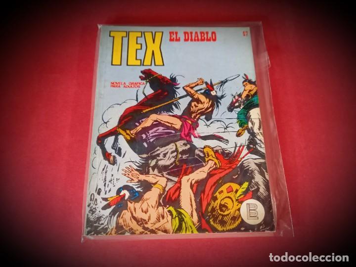 TEX Nº 67 -BURU LAN - EXCELENTE ESTADO - LEER DESCRIPICION - (Tebeos y Comics - Buru-Lan - Tex)