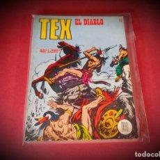 Cómics: TEX Nº 67 -BURU LAN - EXCELENTE ESTADO - LEER DESCRIPICION -. Lote 247961785