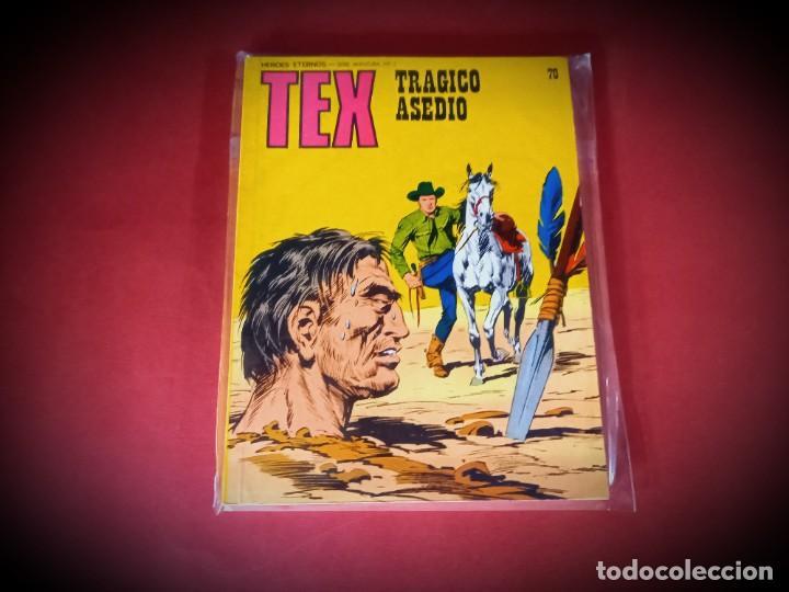 TEX Nº 70 -BURU LAN - EXCELENTE ESTADO - LEER DESCRIPICION - (Tebeos y Comics - Buru-Lan - Tex)