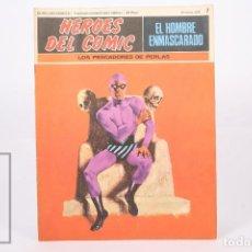 Cómics: COMIC - EL HOMBRE ENMASCARADO Nº 7 LOS PESCADORES DE PERLAS - HEROES DEL COMIC - ED. BURU LAN 1971. Lote 248217790
