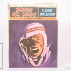 Cómics: COMIC - EL HOMBRE ENMASCARADO Nº 8 LA LEY DEL DESIERTO - HEROES DEL COMIC - ED. BURU LAN - AÑO 1971. Lote 248217825