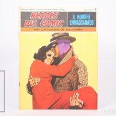 Cómics: COMIC - EL HOMBRE ENMASCARADO Nº 9 POR LOS TEJADOS DE ALEJANDRIA - HEROES DEL COMIC - BURU LAN 1971. Lote 248217840