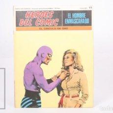 Cómics: COMIC - EL HOMBRE ENMASCARADO Nº 11 EL CIRCULO DE ORO - HEROES DEL COMIC - ED. BURU LAN - AÑO 1971. Lote 248217880