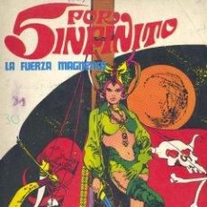 Cómics: 5 POR INFINITO. BURU LAN EDICIONES, 1974, DIBUJOS DE ESTEBAN MAROTO. Lote 248472865