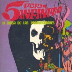 Cómics: 5 POR INFINITO. BURU LAN EDICIONES, 1974, DIBUJOS DE ESTEBAN MAROTO. Lote 248473870