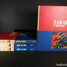 Comics: LOTE FLASH GORDON HEROES DEL COMIC 1972 BURU LAN BURULAN 4 TOMOS 01 01 1 2. Lote 248490760