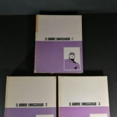 Cómics: LOTE 3 TOMOS EL HOMBRE ENMASCARADO BURU LAN BURULAN 1 2 3. Lote 248491290