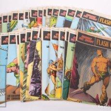 Cómics: LOTE DE 40 COMICS - FLASH GORDON - HÉROES DEL COMIC - ED. BURU LAN - AÑO 1972. Lote 248514600