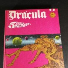 Cómics: DRÁCULA 5 POR INFINITO BURU LAN BURULAN 1972 TOMO 3 EXCELENTE ESTADO. Lote 248554935