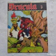 Cómics: DRÁCULA FASCÍCULO QUINCENAL PARA ADULTOS. Nº 11. 1971. ESTEBAN MAROTO, SADKO, BEA, ZABALA, SIO.. Lote 248800610