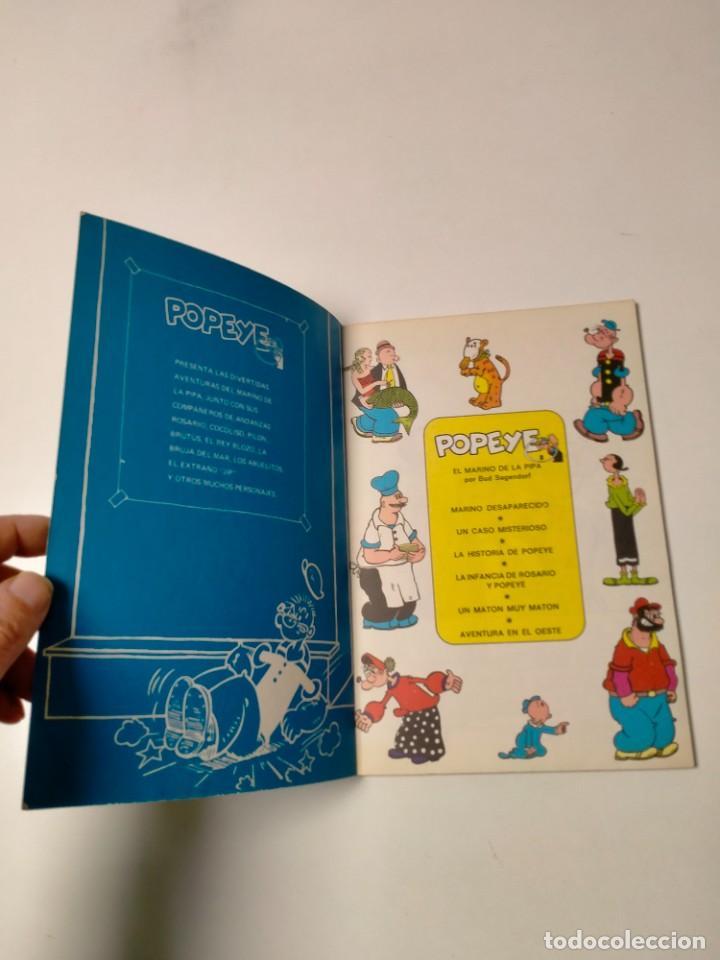 Cómics: Colección Popeye número 2 con Póster Ediciones Buru Lan Año 1970 - Foto 4 - 249036195