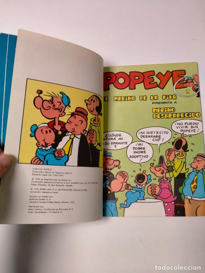 Cómics: Colección Popeye número 2 con Póster Ediciones Buru Lan Año 1970 - Foto 5 - 249036195