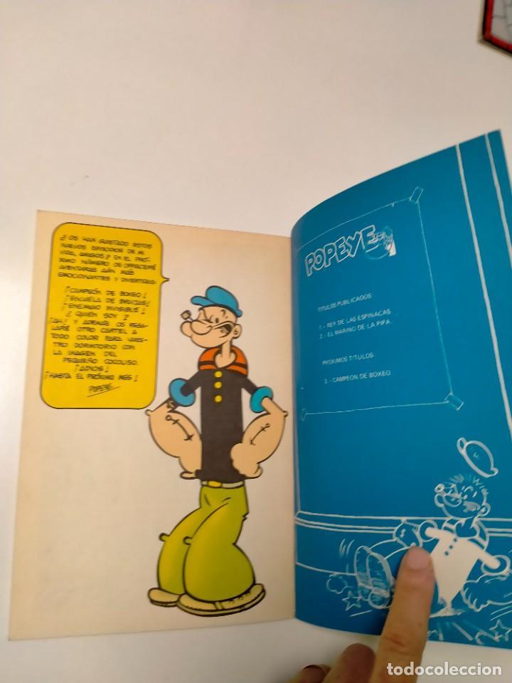 Cómics: Colección Popeye número 2 con Póster Ediciones Buru Lan Año 1970 - Foto 9 - 249036195