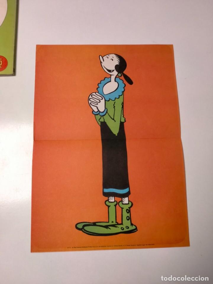 Cómics: Colección Popeye número 2 con Póster Ediciones Buru Lan Año 1970 - Foto 10 - 249036195