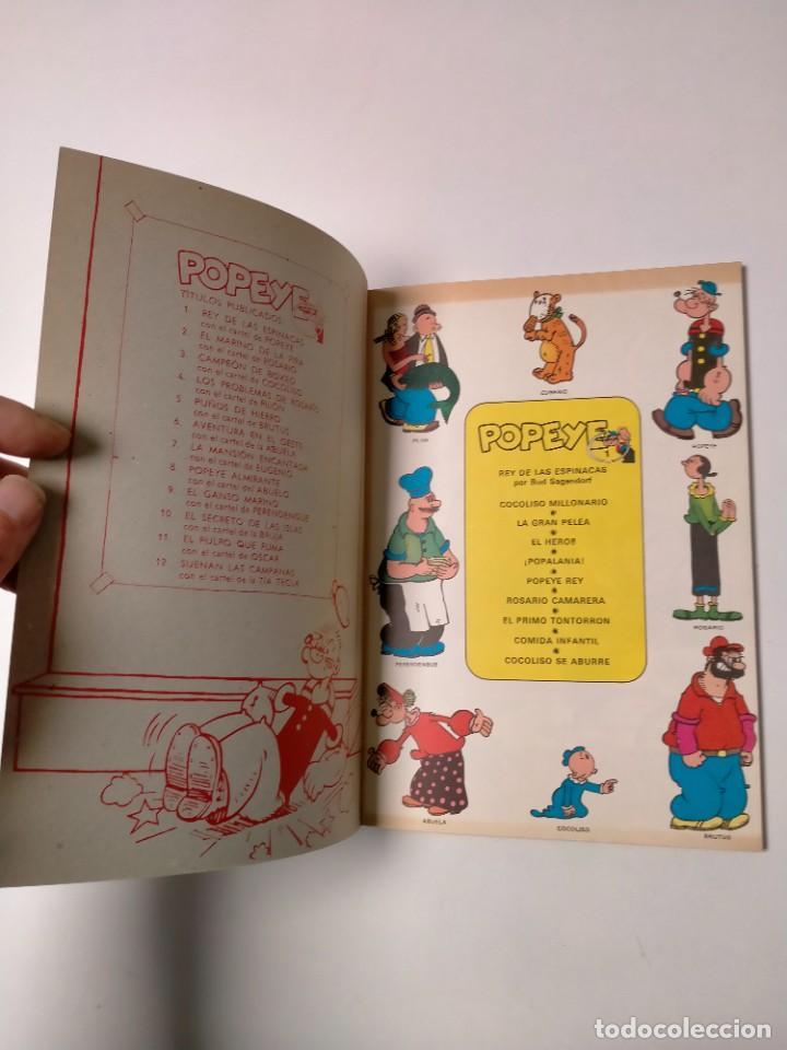 Cómics: Colección Popeye número 1 con Póster Ediciones Buru Lan Año 1970 - Foto 4 - 249037640