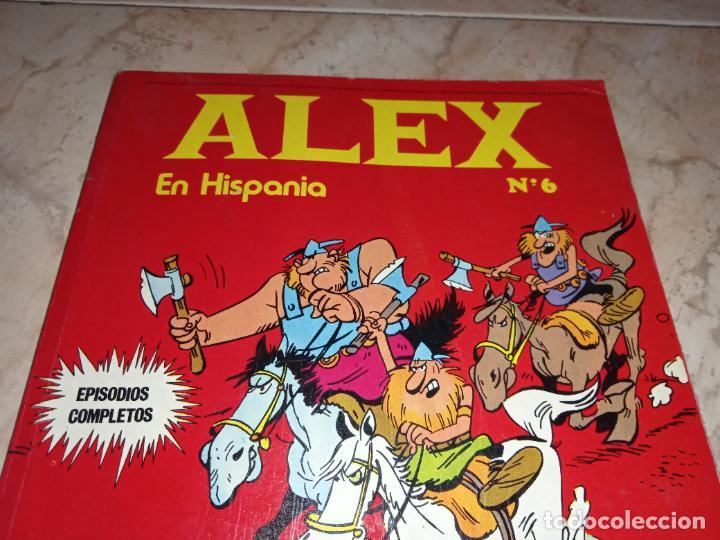 Cómics: Tebeo Alex Nº 6 En Hispania Buru Lan Burulan Ediciones 1973 - Foto 2 - 249097415