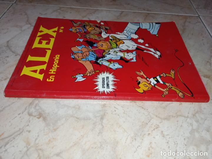 Cómics: Tebeo Alex Nº 6 En Hispania Buru Lan Burulan Ediciones 1973 - Foto 4 - 249097415