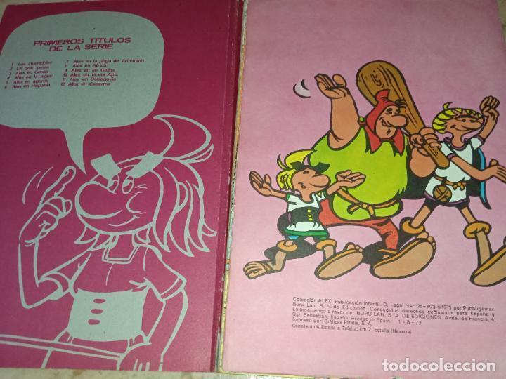 Cómics: Tebeo Alex Nº 6 En Hispania Buru Lan Burulan Ediciones 1973 - Foto 5 - 249097415