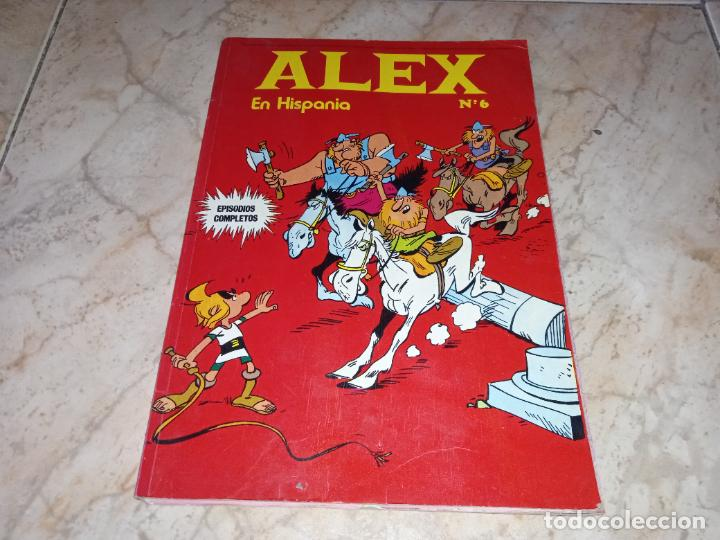 TEBEO ALEX Nº 6 EN HISPANIA BURU LAN BURULAN EDICIONES 1973 (Tebeos y Comics - Buru-Lan - Otros)