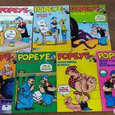 Cómics: POPEYE BURULAN. CÓMICS. TOMOS 5, 6, 11,13, 14, 15 Y 16. Lote 249128675