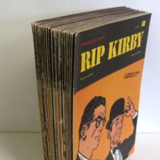 Cómics: LOTE FASCICULOS HEROES DEL COMIC: RIP KIRBY- ¡27 NUMEROS! 1973 * EDITORIAL BURU LAN COMICS *. Lote 249472685