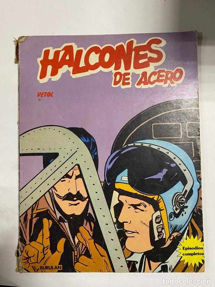 HALCONES DE ACERO. VETOL. BURULAN. (Tebeos y Comics - Buru-Lan - James Bond)