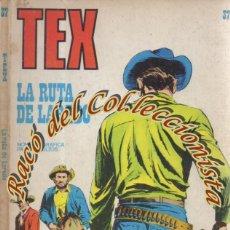 Cómics: TEX Nº 37, LA RUTA DE LAREDO , EDITORIAL BURU LAN, BURULAN, 1972. Lote 252219860