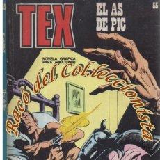 Cómics: TEX Nº 55, EL AS DE PIC , EDITORIAL BURU LAN, BURULAN, BURULAN, 1973. Lote 252220540