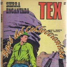 Cómics: TEX Nº 57, SIERRA ENCANTADA , EDITORIAL BURU LAN, BURULAN, 1973. Lote 252220685