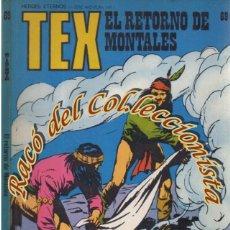 Cómics: TEX Nº 69, EL RETORNO DE MONTALES , EDITORIAL BURU LAN, BURULAN, 1973. Lote 252221065